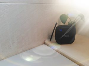 お風呂で音楽